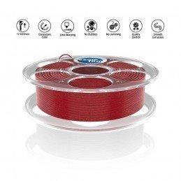 Azure Red Glitter
