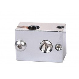 Bloque Hotend V6 Plated Cooper